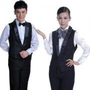 vwin055餐饮服务员工装马甲 台球厅搭配制服马甲 酒店酒吧KTVvwin158马甲