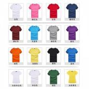 vwin055T恤定做t恤广告衫文化衫定制男女圆领纯棉短袖T恤衫定做个性毕业班服